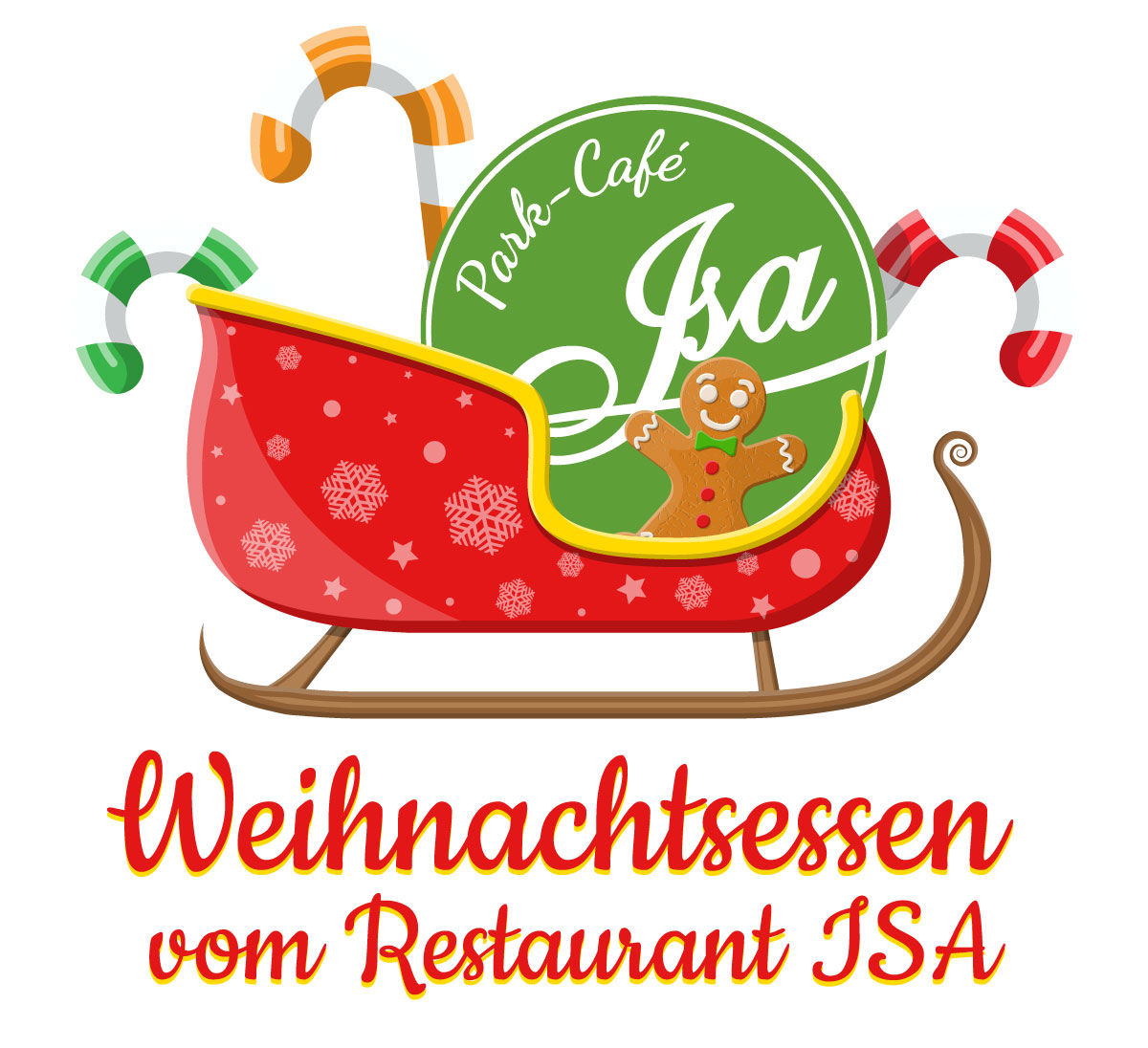 Weihnachtsessen vom Restaurant ISA